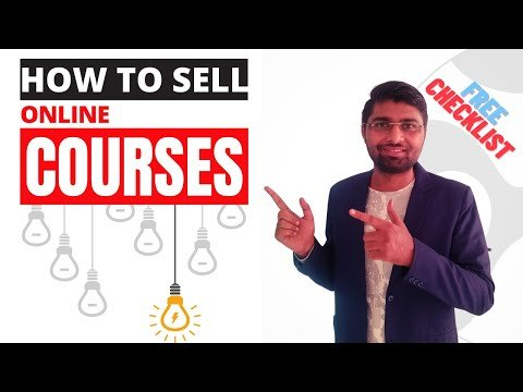 Learn How To Sell Online Courses 📣 Course Sales Funnel 💰 FREE Checklist & Funnel Template