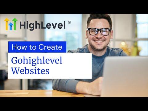 How to create amazing websites on gohighlevel