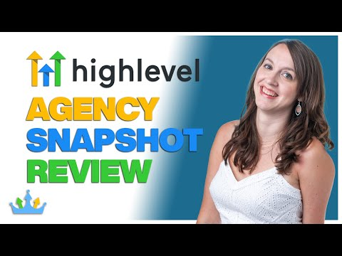 GoHighLevel Agency Snapshot Review & How to Set Up