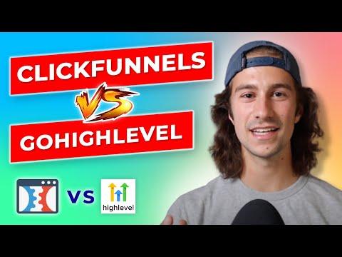 Clickfunnels vs GoHighLevel CRM   HONEST 2021 Breakdown