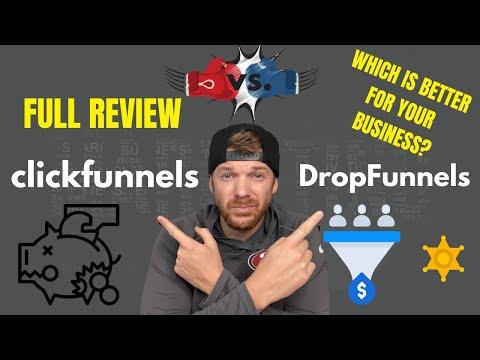 DropFunnels Review | DropFunnels Vs. ClickFunnels | Best Funnel Builder | Digital Marketing
