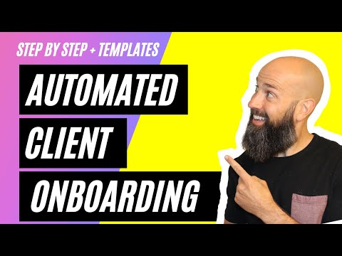 (Automated) Gohighlevel Client Onboarding Process [How to onboard new SMMA Clients]
