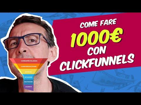 Come Fare 1000 euro con ClickFunnels (per chi inizia)