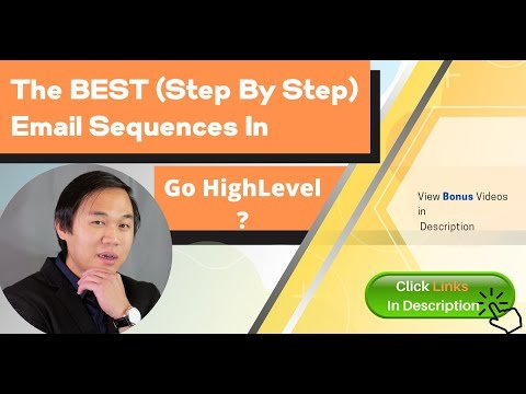 Gohighlevel Bonuses (GHL) Step by Step – Day by Day Email Sequences – Complete Set Up Guide BONUS 😲