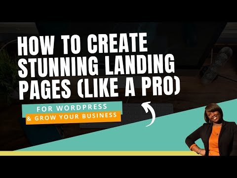 WordPress Tutorial: How to Create a Landing Page to Collect Emails (2019)