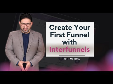 Creating Your First Sales Funnel with InterFunnels   With Khurram Shahzad