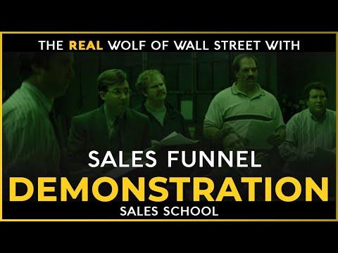 Sales Funnel Demonstration   Free Sales Training Program   Sales School