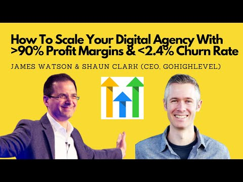 GoHighLevel CEO Shaun Clark Interview: How To Scale Your Digital Agency With High Profit & Low Churn