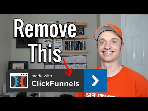 How to Hide the ClickFunnels Affiliate Badge