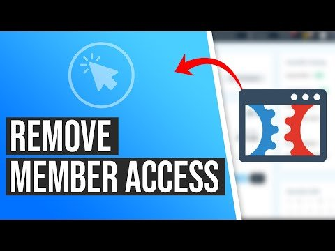 How to Remove Member Access from a Membership Area in ClickFunnels