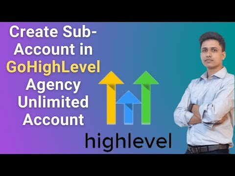 How to Create New Sub-Account in GoHighLevel Agency Unlimited Account