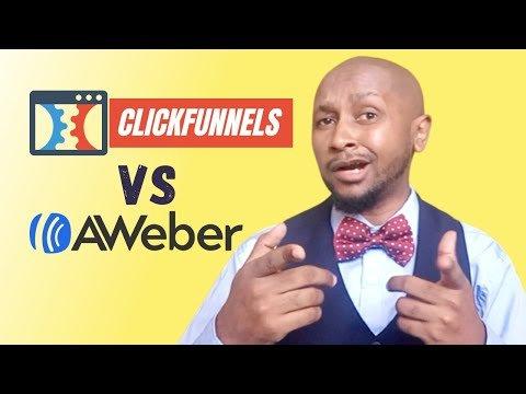 Clickfunnels Vs Aweber 🔥🔥🔥  Comparing Aweber Vs ClickFunnels 2021