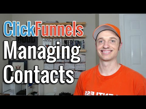 How To Manually Add, Edit and Delete Contacts in ClickFunnels