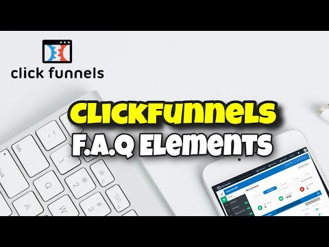 [Official Training]: How To Add Frequently Asked Questions To Your Clickfunnels Page