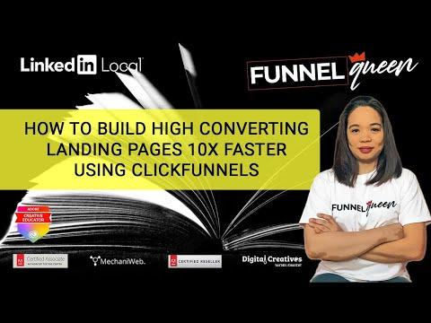 How To Build High Converting Landing Pages 10X Faster Using ClickFunnels