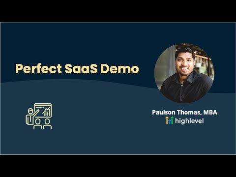 Perfect SaaS Demo