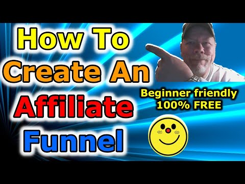 How to Create a Sales Funnel for Affiliate Marketing | Sales Funnel (step by step 100% FREE)