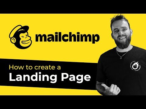 How to setup a MailChimp landing page (MailChimp Tutorial for Beginners)