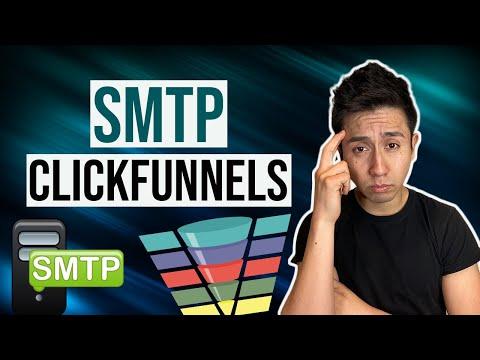 Como Conectar SMTP En Clickfunnels | Embudos De Ventas | Ecommerce | Correos Automatizados