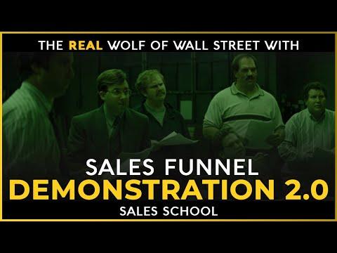 Sales Funnel Demonstration 2.0 | Free Sales Training Program | Sales School