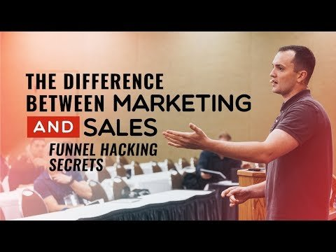 The Difference Between Marketing and Sales – Funnel Hacking Secrets – Episode 149