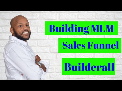 Network Marketing Sales Funnel – How to Build an MLM Funnel With Builderall