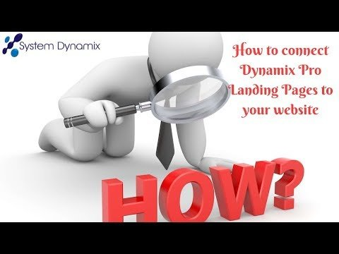 How to add landing pages or landing page forms to your website by link or by html