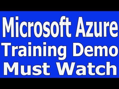 Microsoft Azure Training Videos 1 Microsoft Azure tutorial for beginners Must Watch +91 8886552866