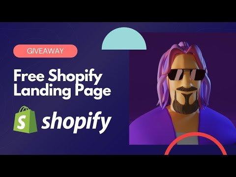 Free Shopify Landing Page Giveaway