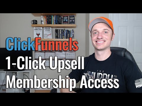 [ClickFunnels] Add 1-Click Upsell to Membership Area