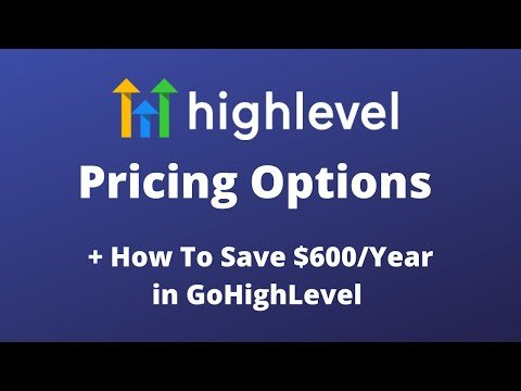 GoHighLevel Pricing