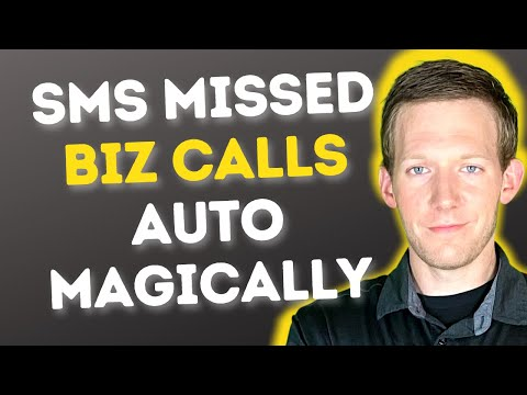 Miss A Biz Call? Automatically Send A Text (SMS) Reply With GoHighLevel | Full Tutorial