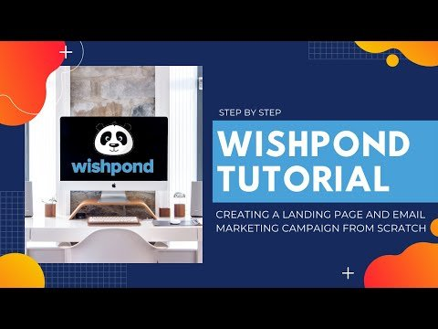 Wishpond Tutorial 👉 Landing Page & Email Marketing Campaign 🔥