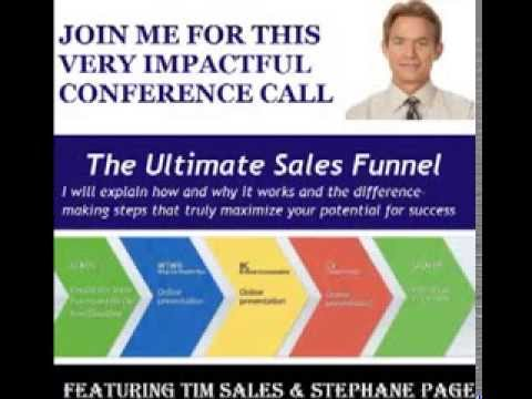 Tim Sales Training on Creating the Ultimate Sales Funnel
