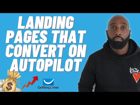 How to Build a High Converting Landing Page & Sales Funnel With GetResponse