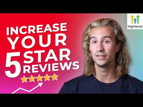 How to Get More Google Reviews Using Go High Level!