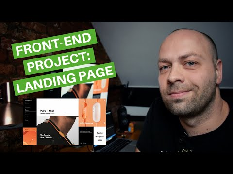 Front-end Project: Landing page design [HTML/CSS]