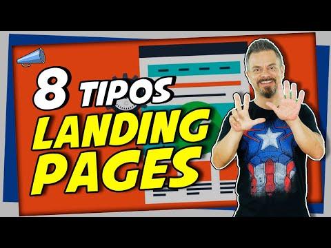🌐 8 Tipos de Landing Pages o Páginas de Aterrizaje