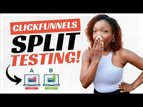 ClickFunnels – How to create and track split tests 2021