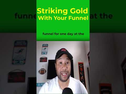 Striking Gold With Your Sales Funnel #Shorts