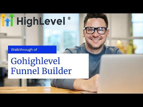 Gohighlevel funnel builder – Complete Walkthrough
