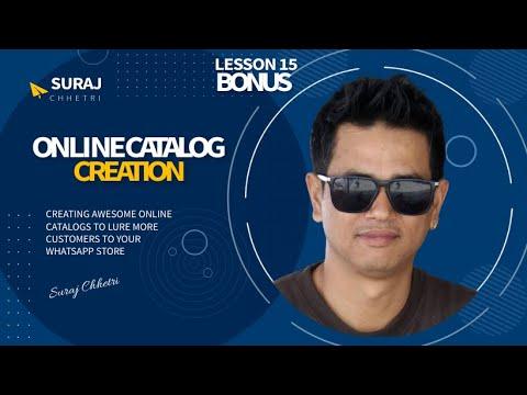 Online Catalog Creation For Your MLM Sales Funnel | Online Network Marketing | Suraj Chhetri