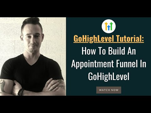📅 GoHighLevel Tutorial ✅ How To Build An Appointment Funnel Using GoHighLevel