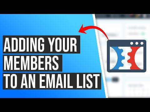 How to Add Your Members To An Email List in ClickFunnels