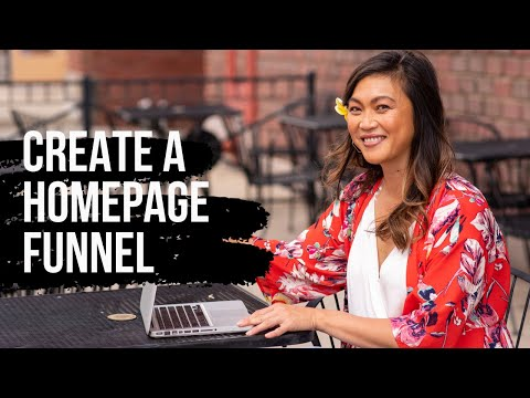 How to Create A Homepage Funnel with ClickFunnels