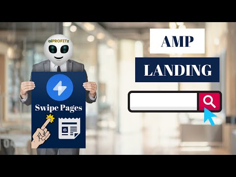 Build AMP Landing Pages FAST with Swipe Pages [Unbounce, Instapage, LeadPages ALTERNATIVE]