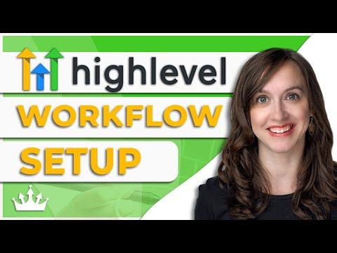 GoHighLevel Workflows Setup
