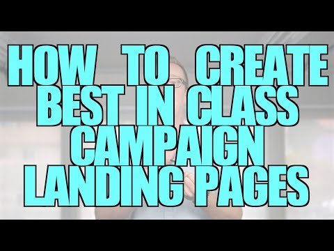How to Create Best in Class Landing Pages for Your Nonprofit