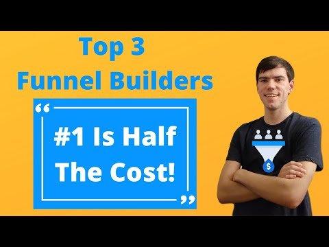 3 Best Sales Funnel Builder Software [#1 IS HALF THE COST!]