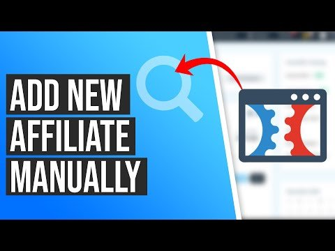 How to Add a New Affiliate Manually in ClickFunnels